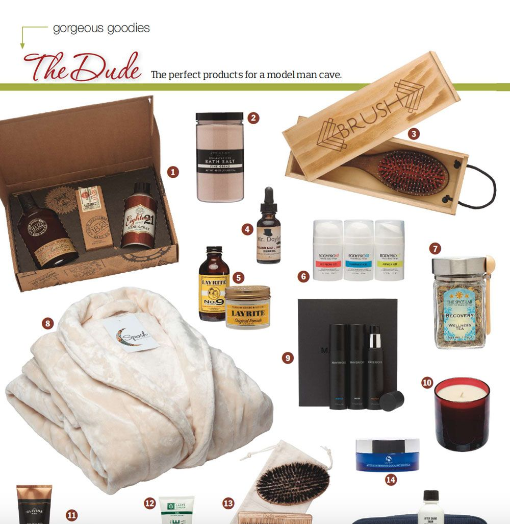 BodyPro50 vu dans le magazine DaySpa, dans le guide des magnifiques petits cadeaux pour les hommes